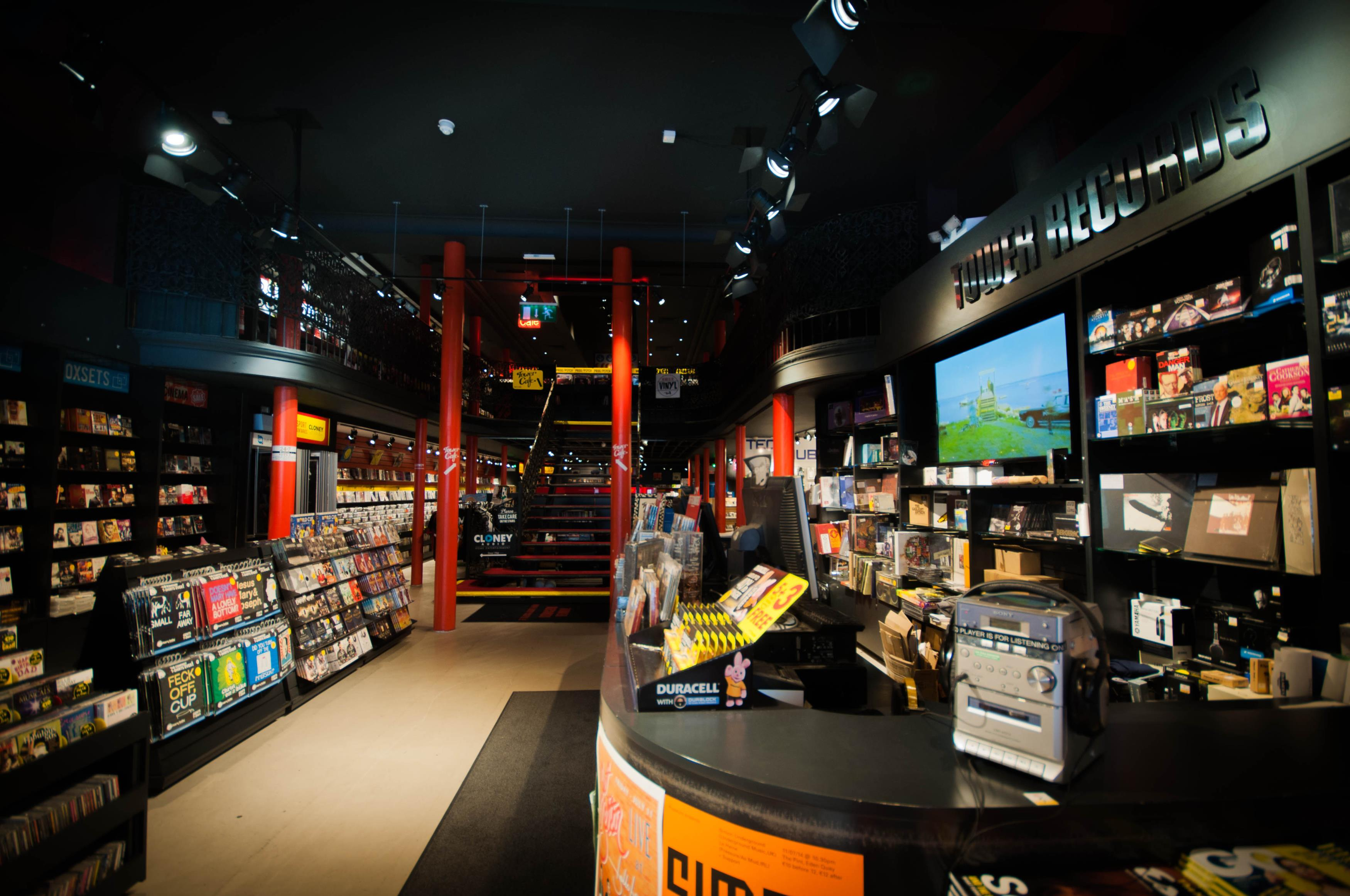 Used Phone Stores >> Tower Records in Dublin, County Dublin